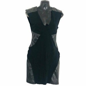 ARITZIA TALULA fitted little black dress size 8